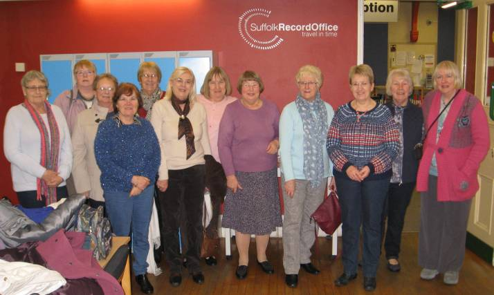 Visit to Suffolk Records Office, Ipswich, on 18/2/16 by Capel Ladies Club