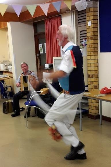 Mike Garland dancing